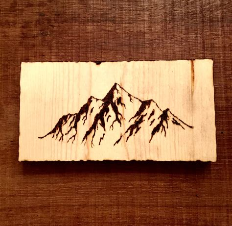 wood burning design templates mountains wood burning pyrography pyrography