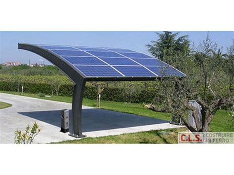 tettoie fotovoltaiche cls carpenteria pensiline fotovoltaiche bergamo