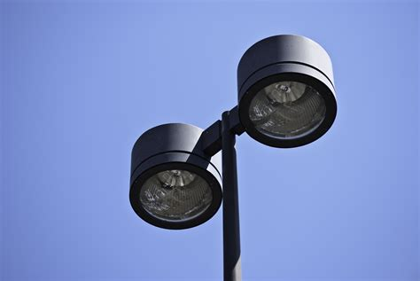 security camera outdoor light fixture ymled6115 outdoor parking led post top fixtures choice led