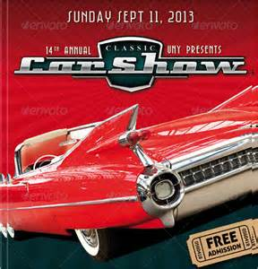 Car Show Flyer Template by Car Show Flyer Template 20 In Vector Eps Psd
