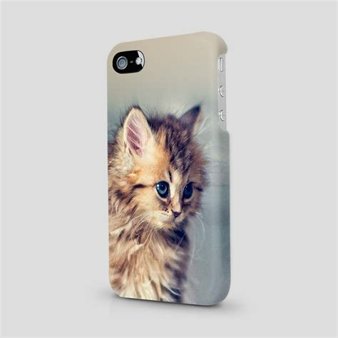 Cat For Iphone cat beautiful animal cover for iphone 4 5 6 7 se ebay
