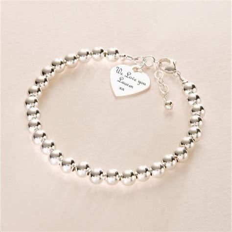 engraved bracelets for charming engraving