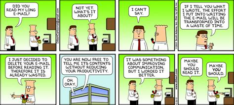 dilbert gets re accommodated books dilbert s tip write shorter emails in improving your