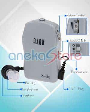 Alat Bantu Dengar Untuk Orang Tuli jual alat bantu dengar untuk lansia tuli axon x 136 aneka store