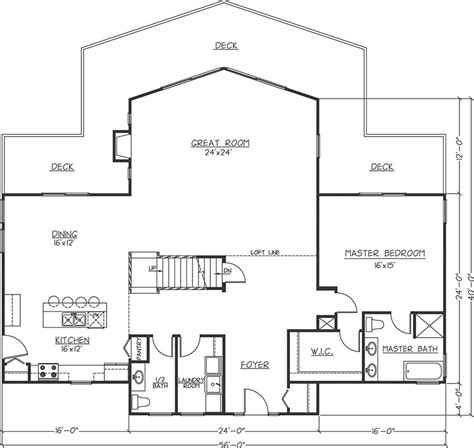 grand chalet floor plan timber homes logangate homes