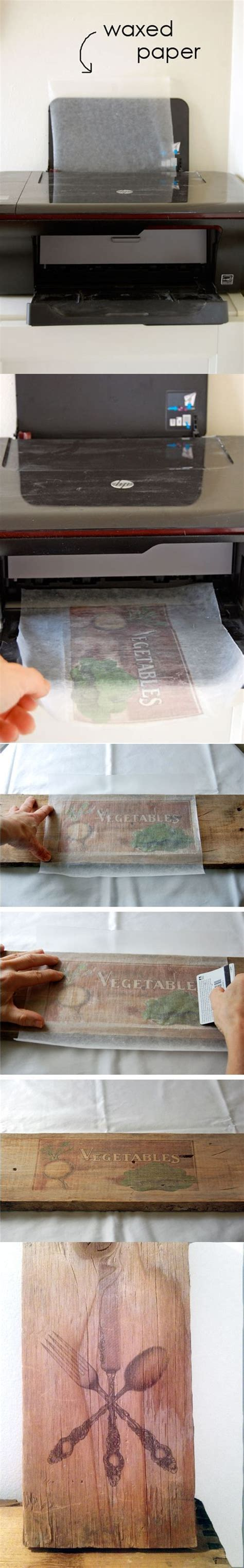 Transfer Paper For Wood Crafts - who came up with this amazing diy inspired