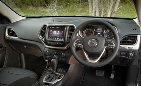 jeep limited inside jeep cherokee review 2015 cherokee limited diesel