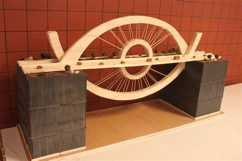puentes hechos de palillos de elados la umh expone las maquetas de la xiv edici 243 n del concurso