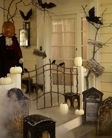 halloween home decorating ideas 40 cool halloween front door decor ideas digsdigs
