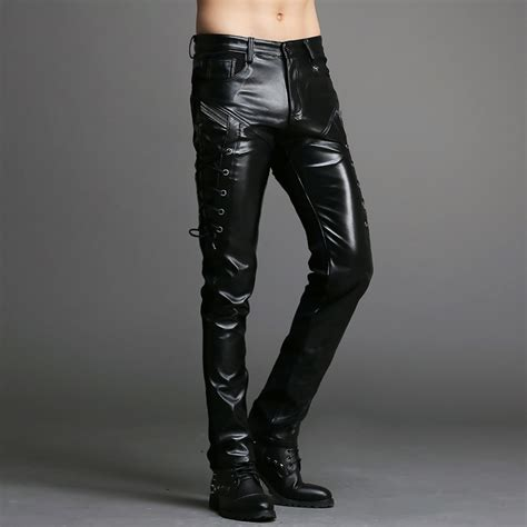 leather pants popular faux leather pants for men buy cheap faux leather