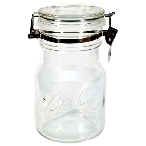 Old Fashioned Kitchen Canisters ball sure seal bail storage jar