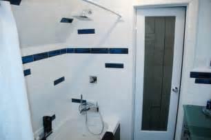 borders bathroom: bathroom border tile modern bathroom denver by designer glass