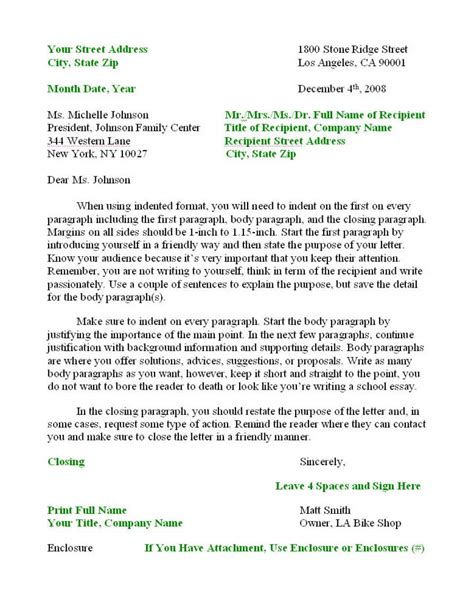 how to write a business letter template how to write format letter new calendar template site