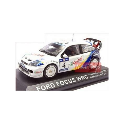 Rally Auto Modelle by Ford Focus Wrc 2003 Rally Auto Corsa Modellino Die Cast 1