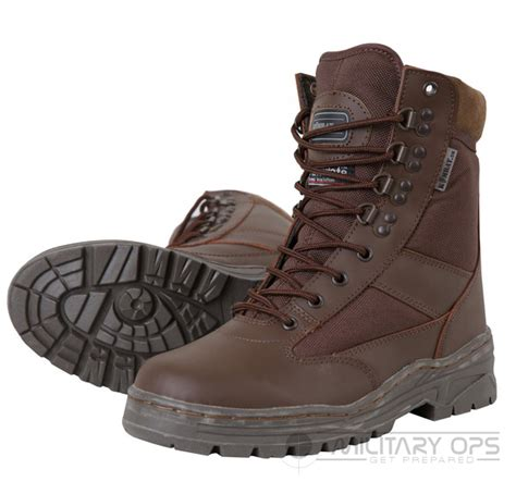 army half leather combat patrol boot tactical