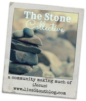 creative ambitions: his love endures forever… the stone