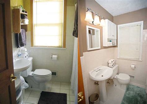 bathroom remodeling ideas before and after before amp after move out magic