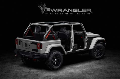 2020 jeep wrangler 2020 jeep wrangler pickup truck concept release best