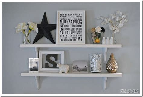 cute   put  shelves  pictures floating