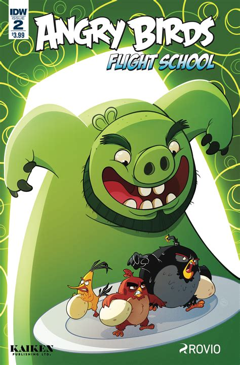 angry birds comics flight school books angry birds flight school 2 idw publishing