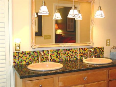 backsplash ideas for bathrooms bathroom backsplash google search bathroom ideas