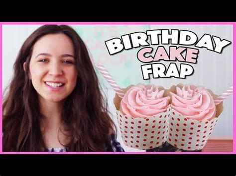 how to starbucks cupcakes youtube starbucks birthday cake frappuccino cupcakes with