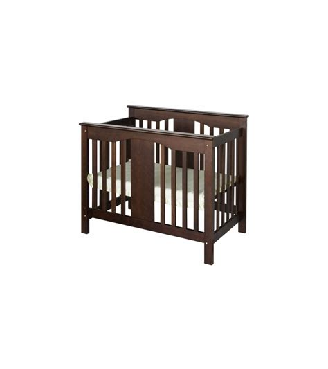 Mini Crib Convertible Davinci Annabelle Mini 2 In 1 Convertible Crib Espresso