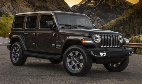 2018 Jeep Wrangler Debut by 2018 Jeep Wrangler Previewed Ahead Of Los Angeles Debut