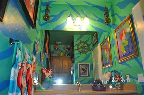 disney bathroom ideas little mermaid bathroom for the home pinterest