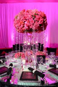 bling centerpieces wedding reception cook events omg las vegas wedding reception