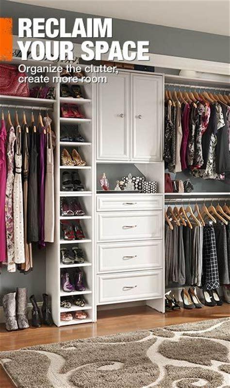 Design A Closet Home Depot by Home Depot Closet Organizer Create Storage Space Like A