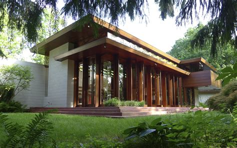 wright house design usonian house tag archdaily