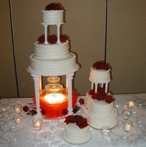 Wedding Cakes With Fountains by Wedding Cakes With Fountains Weneedfun