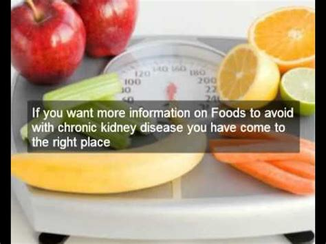 food for kidney disease which foods to avoid with chronic kidney disease learn foods to avoid with chronic