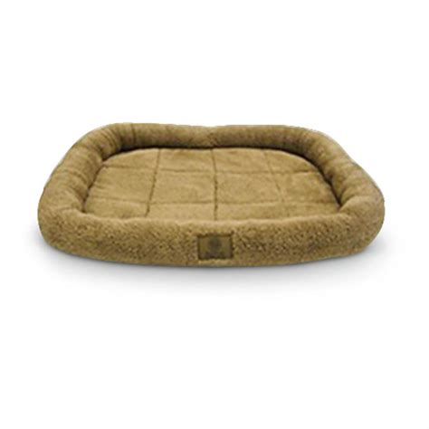 guide gear pillow top gusset dog bed 657471 kennels akc pet pad 294115 kennels beds at sportsman s guide