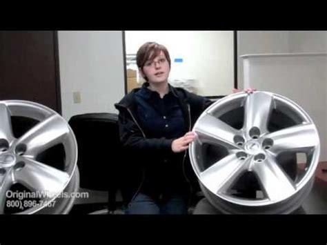 rx 350 rims & rx 350 wheels video of lexus factory