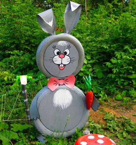 garden decoration with tyres tire recycling ideas 22 animal shaped garden decorations
