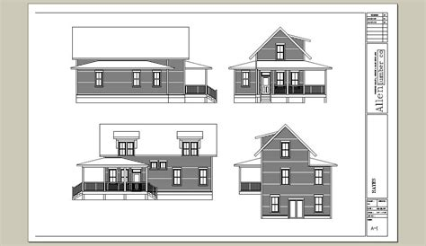 Vermont Vernacular House Plans Vermont Vernacular House Plans House Plans