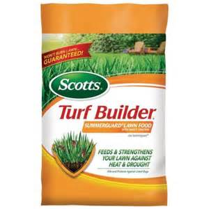 grass fertilizer home depot scotts 5 000 sq ft turfbuilder with summerguard fertilizer