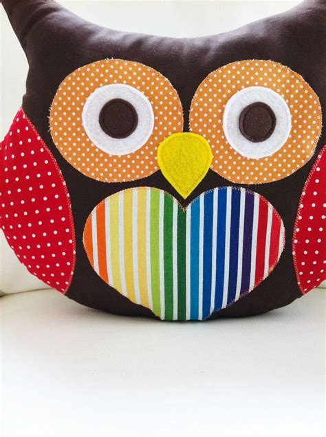 Owl Pillow Pattern by Owl Sewing Pattern Owl Pillow Pattern Pdf Pattern