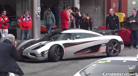 koenigsegg wrapped f1 s adrian sutil drives the koenigsegg one 1 at spa