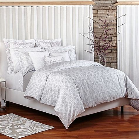 bellora 174 luxury italian made duvet cover in grey bed bath beyond