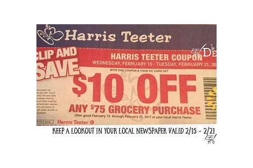 harris teeter coupons matchups