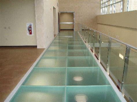 glass floor glass floors in st louis