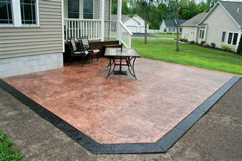 Backyard Concrete Patio Designs Layouts Cost To Pour Concrete Patio Designs Layouts