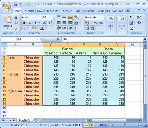 excell tabelle trasforma tabelle excel in liste e elenchi paolo guccini