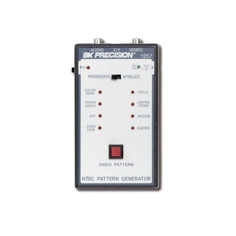 ntsc pattern generator bk precision 1257 portable ntsc pattern generator at the