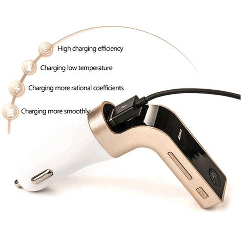 Car Charger 4 In 1 Bluetooth Fm Transmitter Mp3 G7 car charger 4 in 1 bluetooth fm transmitter mp3 g7 silver jakartanotebook