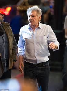 where does harrison ford live harrison ford talks chewbacca out of jumping from a