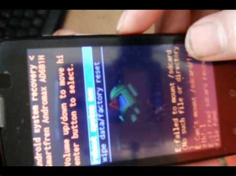 reset andromax c3 hard reset andromax c3 ad6b1h youtube
